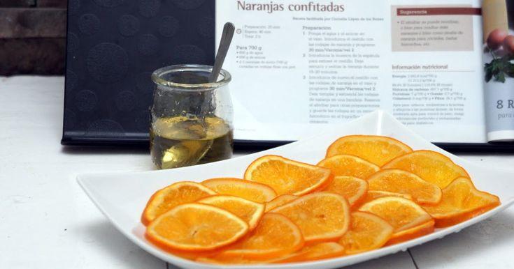 S i hay algo que no puede faltar en los dulces navideños es la naranja confitada, sobretodo en el delicioso roscón de reyes ¿ verdad ?, pue...