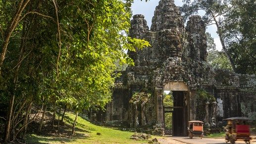 Cambodia! See the magnificent Siem Reap and Angkor Wat. #destinations2017 #travel #explore #cambodia #siemreap #angkorwat #kilroy