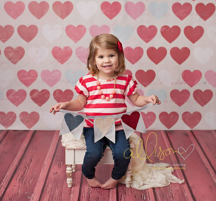 Valentine's Day Photography Backdrops #valentine's #day #mini #session #set #up #studio #backdrops #props #ideas #children #kids #baby #newborn #portrait #background Photo by UrbanAlli Photography