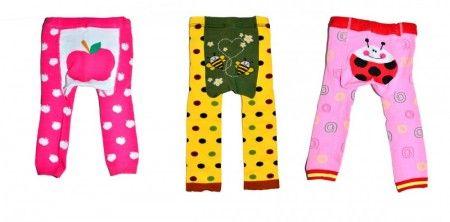 Nydelige, fargesprakende stilongser til aktive og glade barn:) Mulfelongs 3 pk. 90 kr