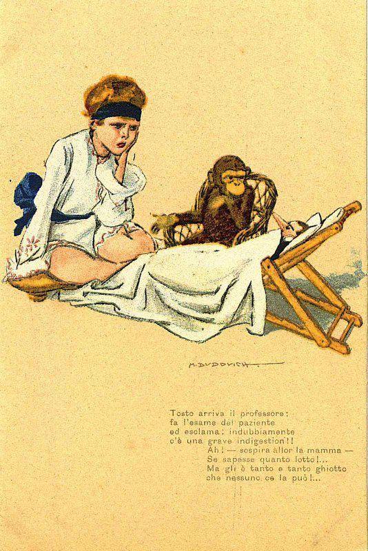 Dudovich - illustrazione