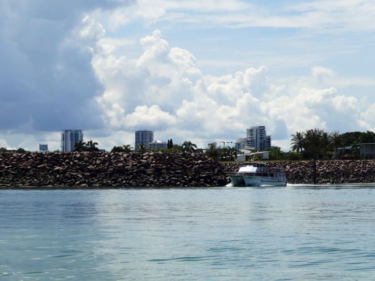 Darwin City from the sandbar off Cullen bay
