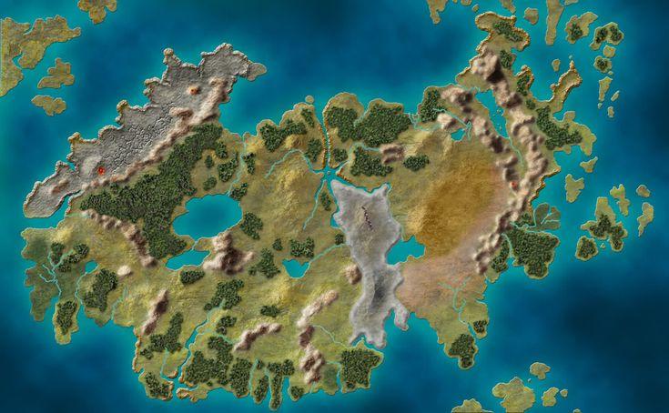 Blank Eberron Map