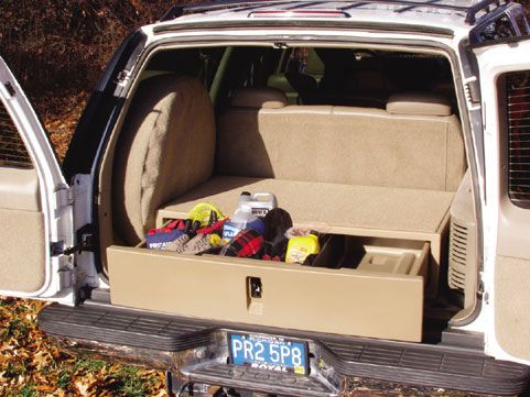 Cargo Caddy For Truck Van And Suv Police Suv Organizer