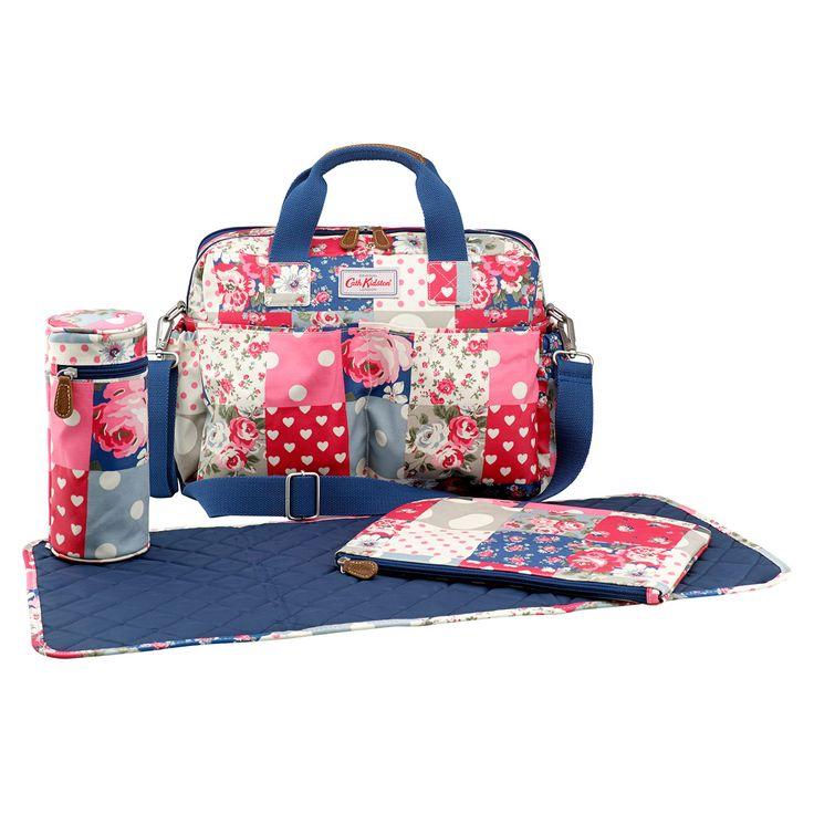 Patchwork Double Pocket Nappy Bag | Cath Kidston |