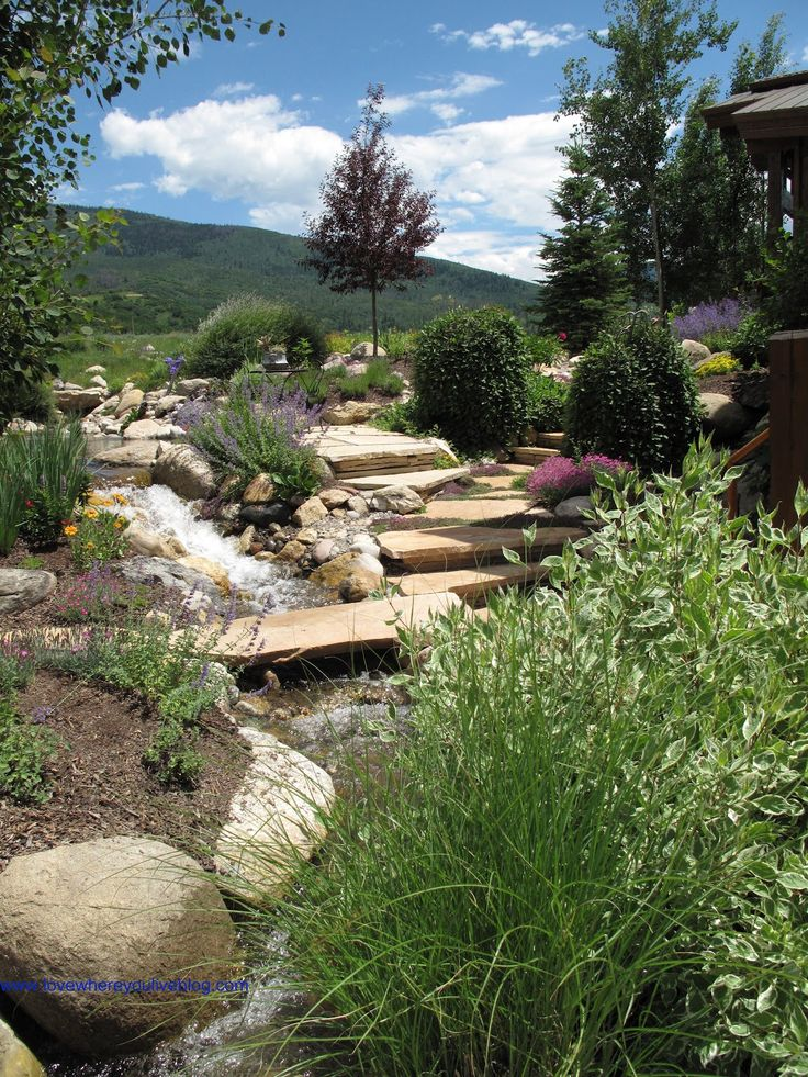 21 best images about Landscaping - Mountain Style on ... on Mountain Backyard Ideas id=48099