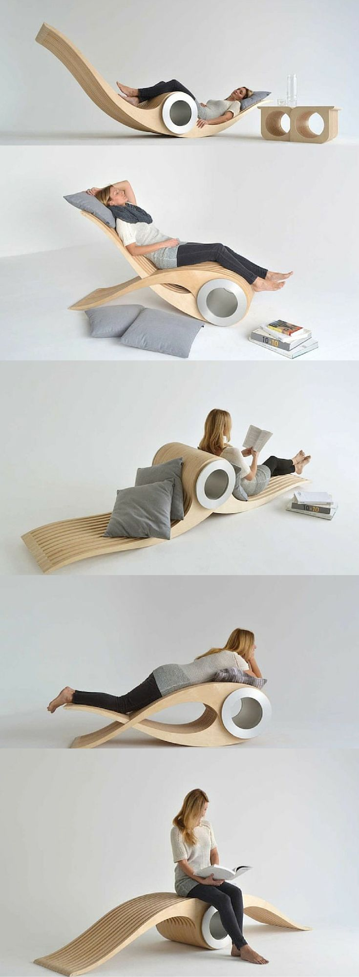 Transforming Chair Lets You Rest In Different Positions For Maximum Comfort.