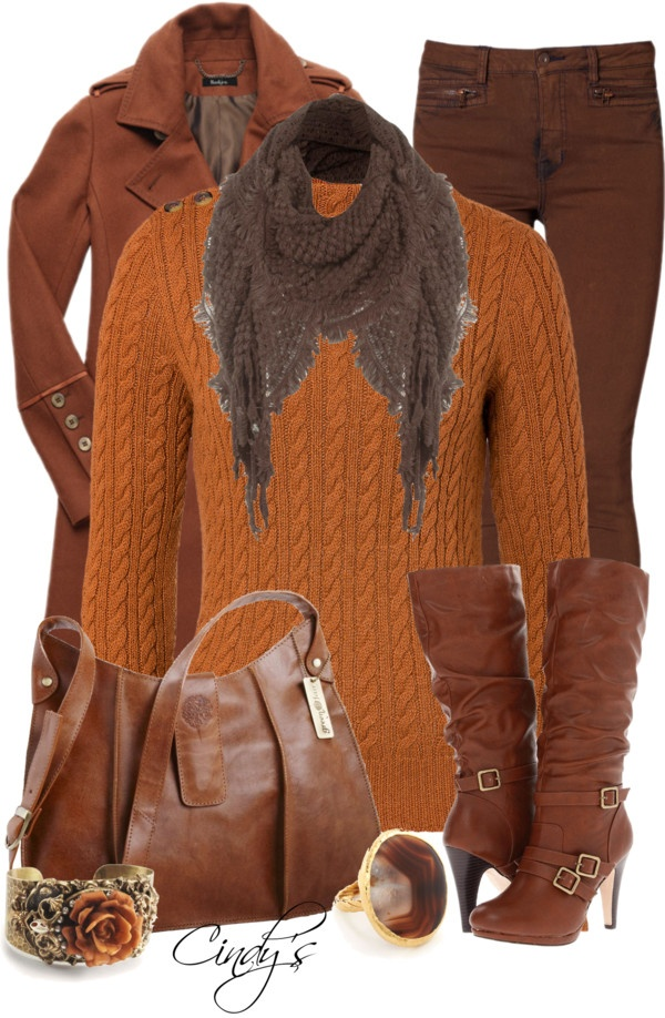 """Browns"" by cindycook10 on Polyvore"