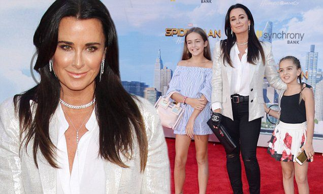 Kyle Richards takes daughter Portia to Spider-man: Homecoming premiere