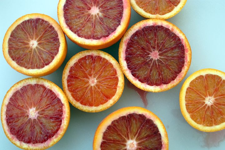'Moro' blood orange tree is the most colorful of them all; they can be r…  – container gardening
