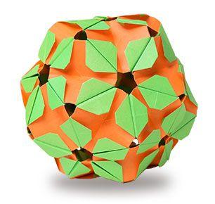 origami kusudamayoung leaves