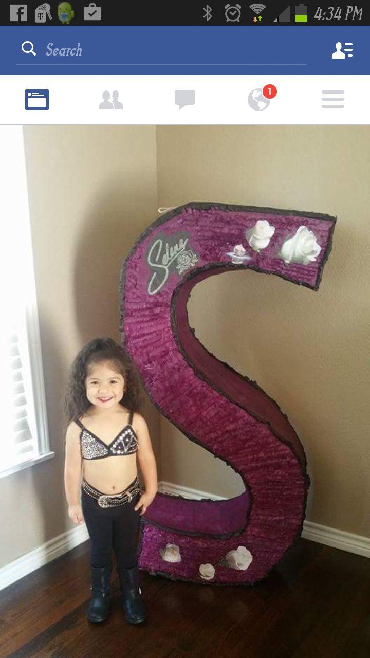 Selena Quintanilla Birthday piñata
