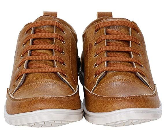 22403f65ae5338 Kraasa Men s Faux Leather Sneaker  Buy Online at Low Prices in India -  Amazon.