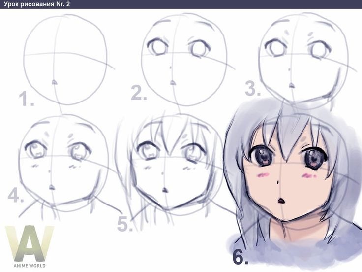 Basic anime drawing steps lessons tes teach