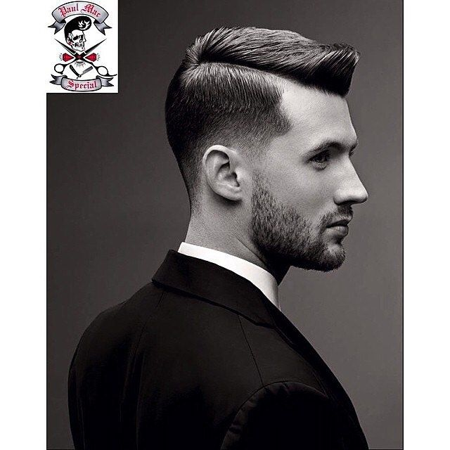 Repost: @paulmacspecial 'You simply can't beat the classics! Haircut & style for Mens Health magazine by Paul Mac. Awesome work!'