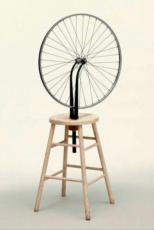 1913-51. Ready Made. Ruota di Bicicletta.  MOMA