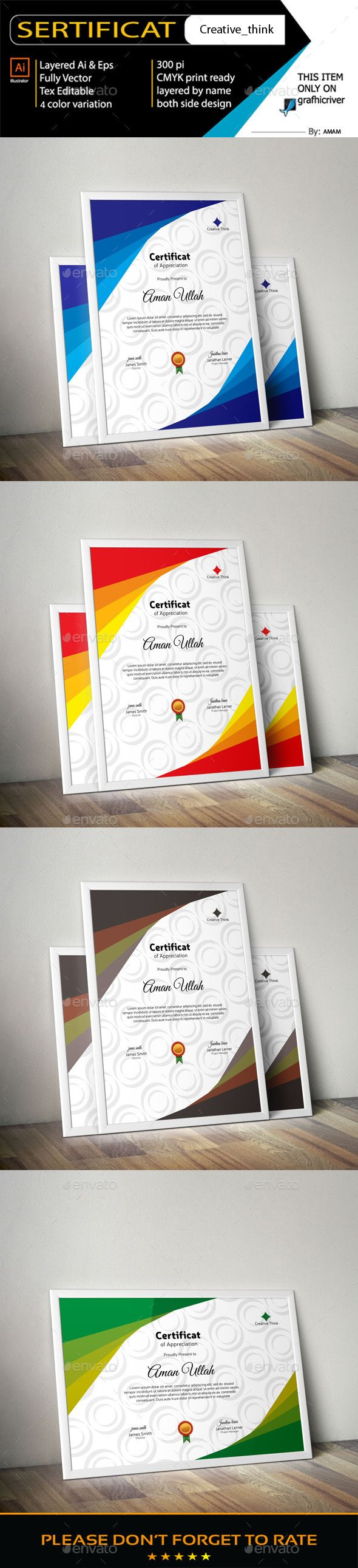 #Certificate - Certificates Stationery Download here:  https://graphicriver.net/item/certificate/19258816?ref=alena994