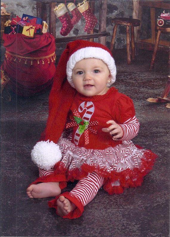 toddler knit santa hat pattern knitting