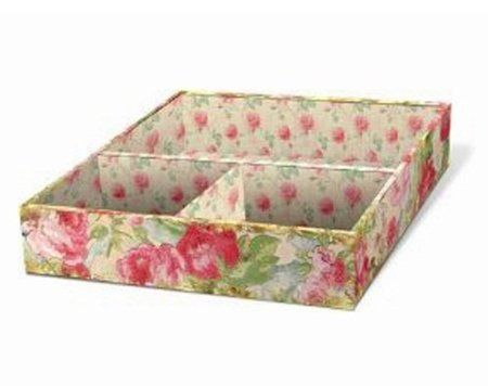 amazoncom punch studio vintage rose square jewelry trays jewelry