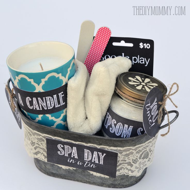Best 25 spa gift baskets ideas on pinterest spa gifts for Diy gift ideas for women