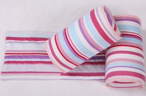Baby sleep positioners   - Pin it :-) Follow us .. CLICK IMAGE TWICE for our BEST PRICING ... SEE A LARGER SELECTION of  baby positioners at   http://zbabybaby.com/category/baby-categories/baby-safety/baby-sleep-positioners/ - gift ideas, baby , baby shower gift ideas, kids  -  Baby Infant Cotton Anti Roll Pillow Sleep Head Positioner Red Stripe By ZC Express « zBabyBaby.com