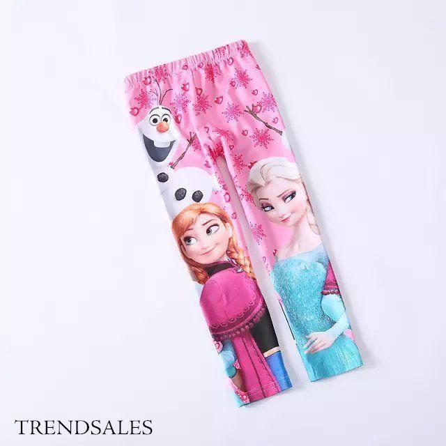 Import Elsa og Anna frost - Elsa frost leggings pants