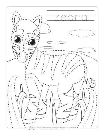 safari and jungle animals tracing worksheets free printables for kids zoo animal coloring. Black Bedroom Furniture Sets. Home Design Ideas