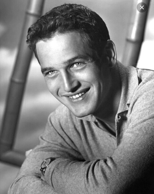 The ridiculously handsome Paul Newman