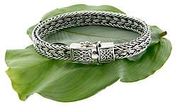 PBS7460  This Unisex bracelet is part of the Keith Jack Dragon Weave Collection.   Wear this bracelet to signify life's continually evolving path.