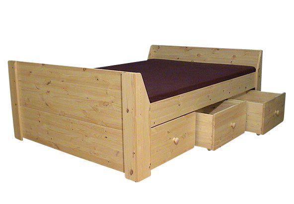 bed met laden bedden met laden massief hout houten bedden met laden