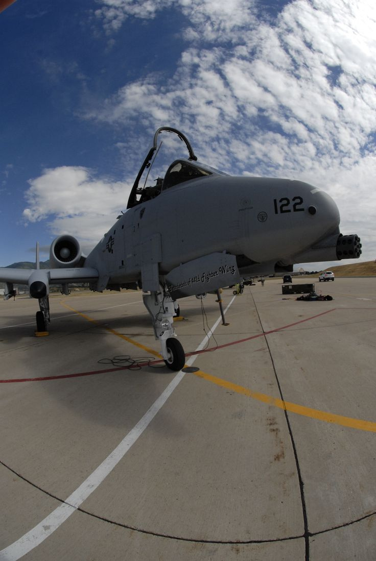 Fairchild A-10 Thunderbolt II.442nd Fighter Wing deployed approximately 70 reservists to Hill Air Force Base, Utah for deployed facility training in August 2010. The 442nd FW is an Air Force Reserve unit at Whiteman AFB, Mo. (U.S. Air Force photo/Senior Airman Danielle Wolf)