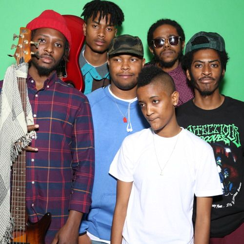 Syd, Matt Martian, Patrick Paige, Christopher Allan Smith, Jameel Bruner, and Steve Lacy.