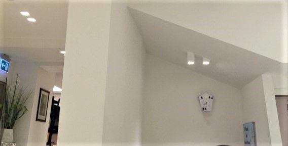 Luci a soffitto - Cubotti Portafaretti Led INSTALLATI
