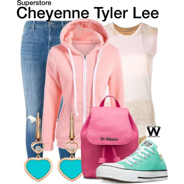 Inspired by Nichole Bloom as Cheyenne Tyler Lee on Superstore.