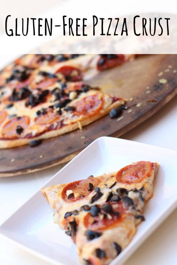 This pizza crust from @LifeMadeFull looks so good, no wonder she's calling it the World's Best Gluten Free Pizza Crust Recipe!