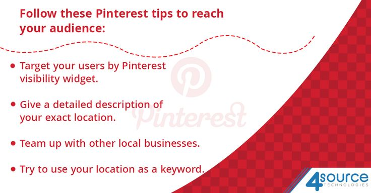 Pinterest can actually be a great medium for reaching your local business.