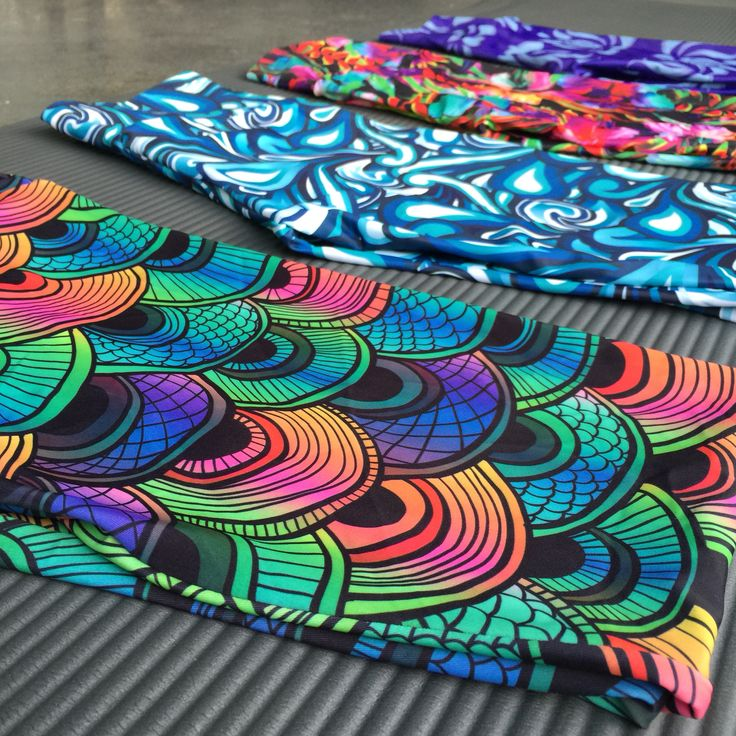 Beautiful vibrant printed tights and activewear from Pink Punk.