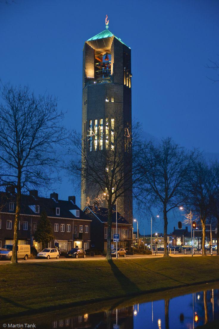 Poldertoren, Carillon, Emmeloord, Flevoland.
