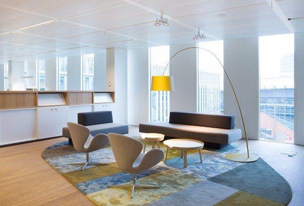 こんな仕事場ならやる気も出るかも!色使いが素敵なオフィス-NUON Offices | STYLE4 Decor