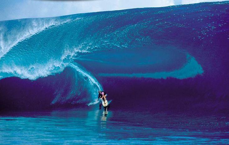 Laird Hamilton rode The Wave