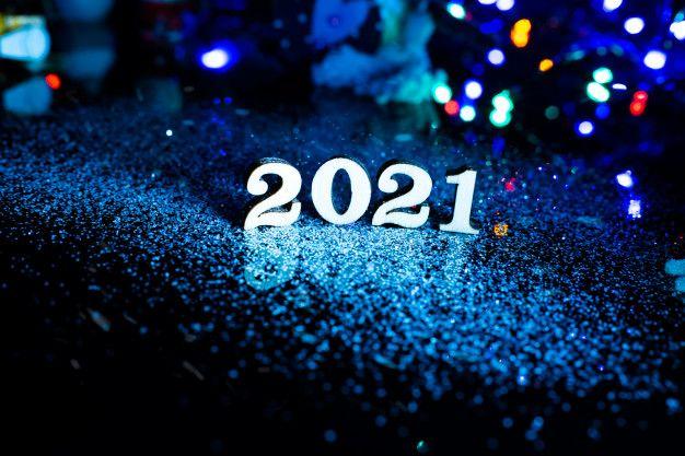 Поздравления с новым 2021 годом. С годом Металлического Быка в 2020 г | С новым годом, Открытки, Рождественские картинки