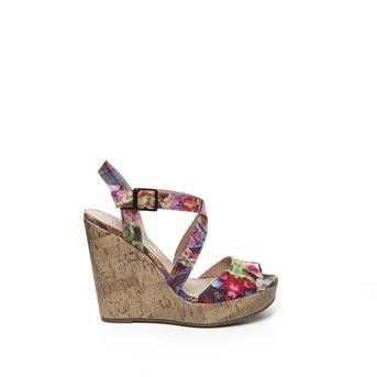 Manfield - multi color sandalen  #hogehakken #highheels