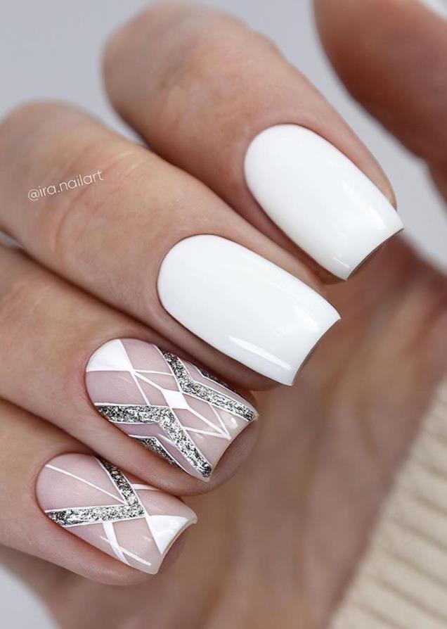 33 Trendy Natural Short Square Nails Design For Spring Nails 2020