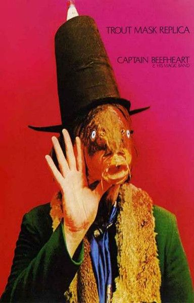 Captain Beefheart Trout Mask Replica Poster 11x17 – BananaRoad