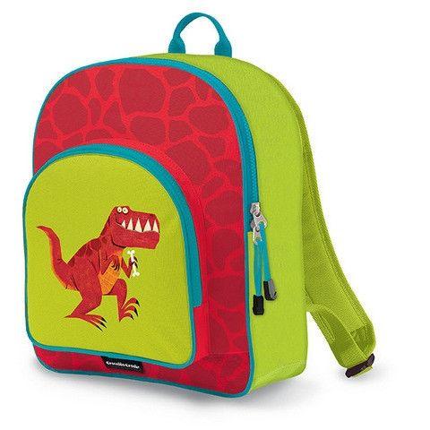 Crocodile Creek Backpack - Trex http://pumpkinpiekids.com/products/backpack-trex