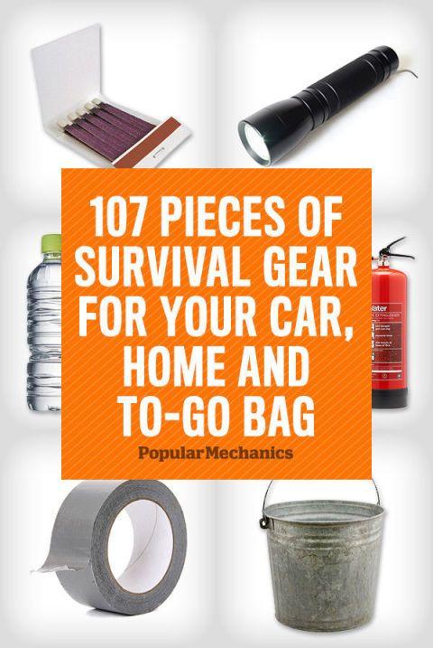 Survival Kit Checklist - Emergency Survival Gear List