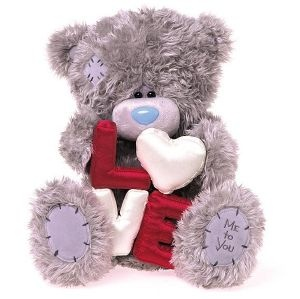 Peluche Me To You Love, cadeau Saint valentin, Cadodes.com