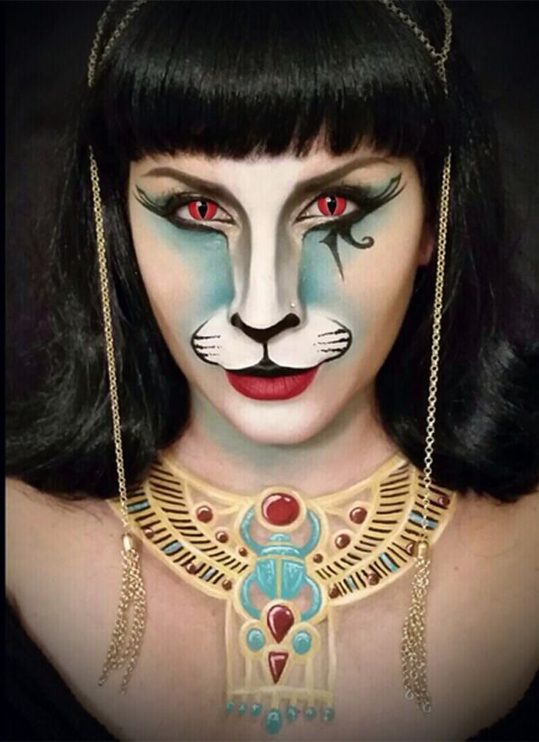 744 best Face paint images on Pinterest Artistic make up, Make up - face painting halloween makeup ideas