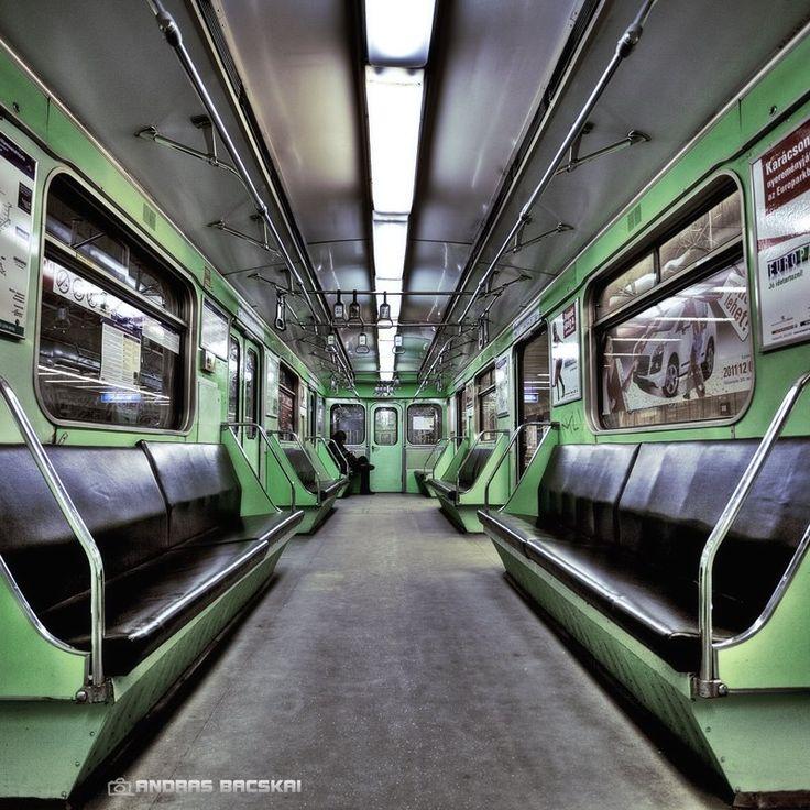 Metro, Budapest by Andras Bacskai, via 500px