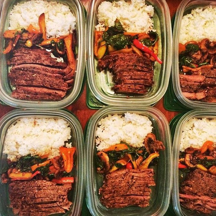 "#1 Meal Plan & Prep Tool on Instagram: ""Simple, delicious, and effective prep by @in2nit of steak, rice, and mixed veggies. - Download @mealplanmagic to find out what quantities of the foods you like will get you to your goals!"